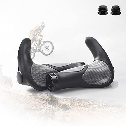 MTB Grips BMX Bike Ergonomic Handlebars Grips ...