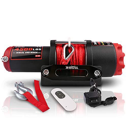 並行輸入品XPV 4500 LBS Waterproof Winch Electr...