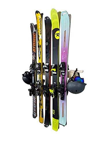 新品送料無料THE MOGUL ski storage rack 2 Pairs...