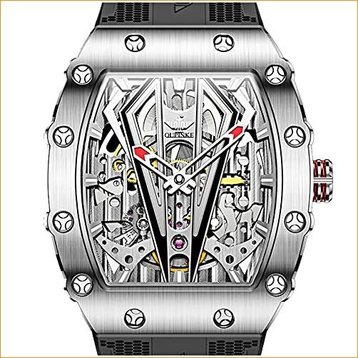 OUPINKE Men Wrist Watches-Skeleton Watches for...