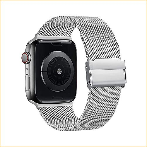 BOGUANLIYI Magnetic Band Compatible with Apple...