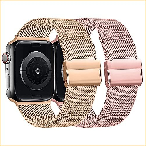 2Pack Magnetic Band Compatible with Apple Watc...