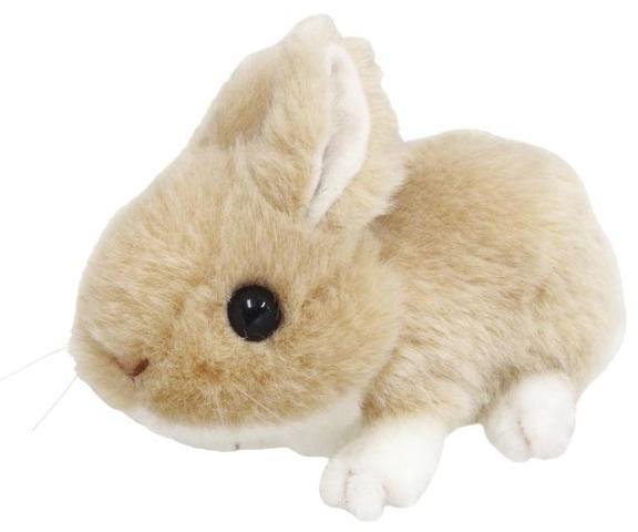 動物ぬいぐるみ りくのなかまたち ウサギ ベー...