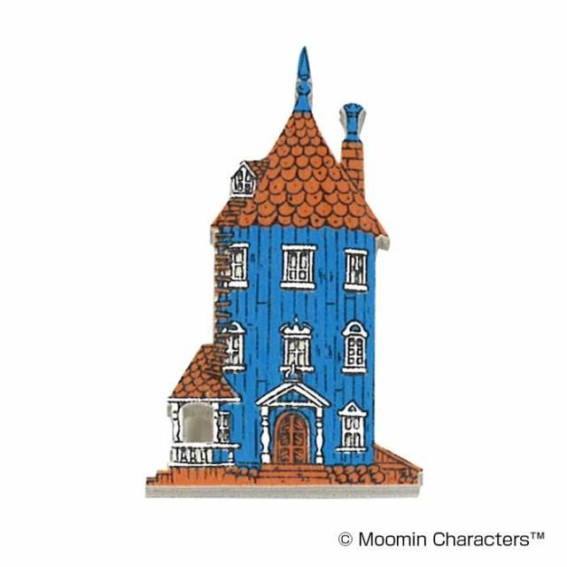 MOOMIN(ムーミン) 木製マグネット ムーミンハウス...