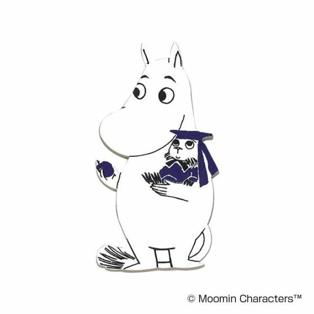 MOOMIN(ムーミン) 木製マグネット ムーミンとブル...