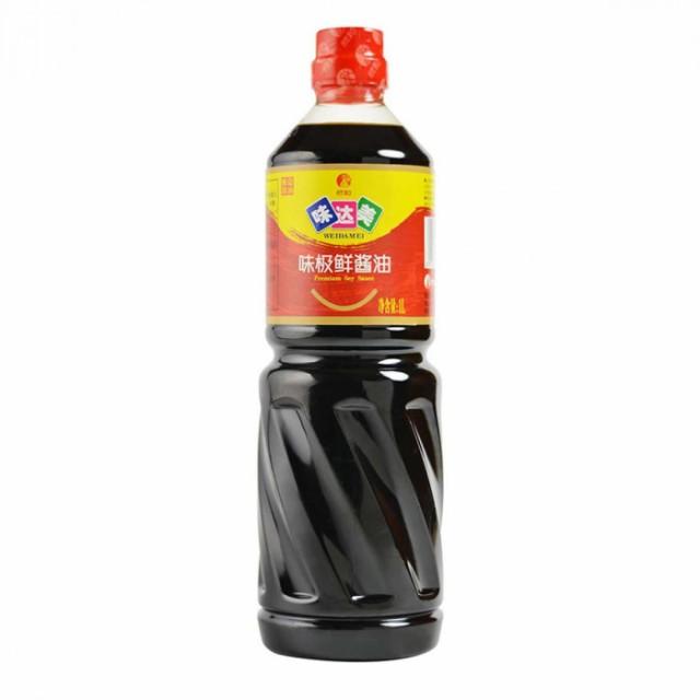 中国濃い口醤油(味極鮮)1L×12本 210302