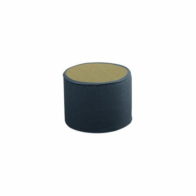 い草 シンプル スツール 約40R×30cm 3277859