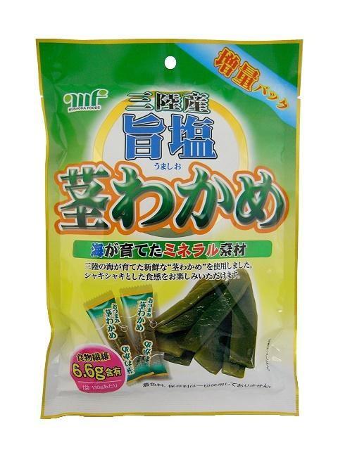 村岡食品工業 旨塩茎わかめ 130g×12袋