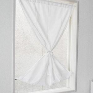 日本製 遮像・遮熱機能付き小窓用レースカーテン...
