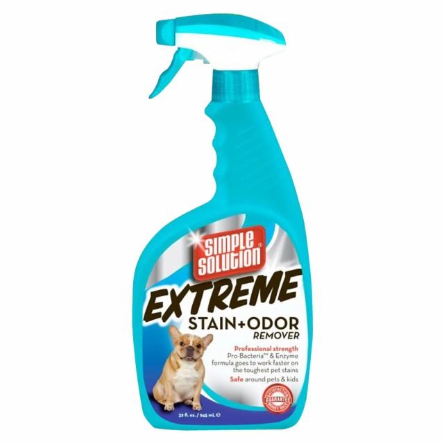 正規輸入品 ブラントン・カンパニー社製 犬専用・強力シミ取り消臭スプレー シンプルソリューションEX 945ml 10137