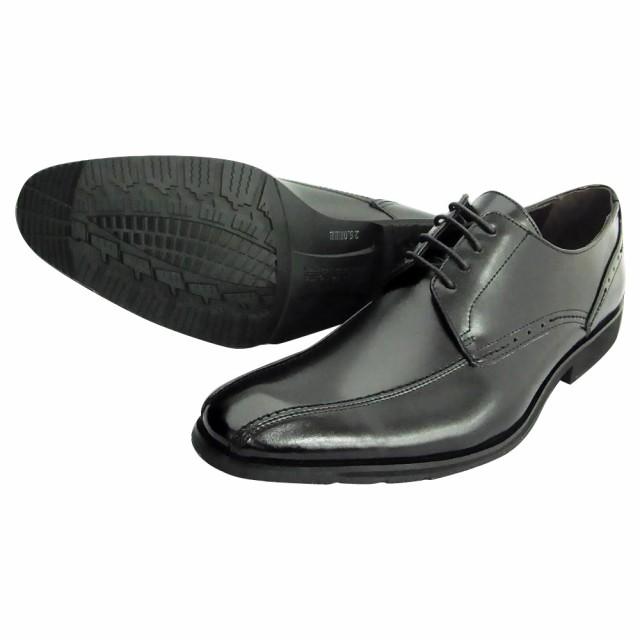 紳士メンズ ビジネスシューズ U3600 ブラック