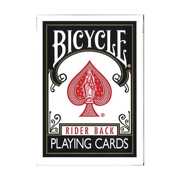プレイングカード バイスクルライダーバック 黒 P...