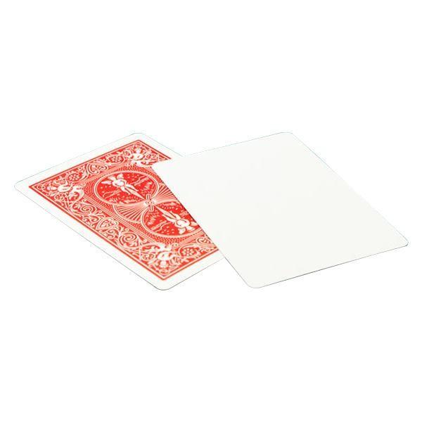 バイスクルマジックカード ブランクフェイス赤 PC...