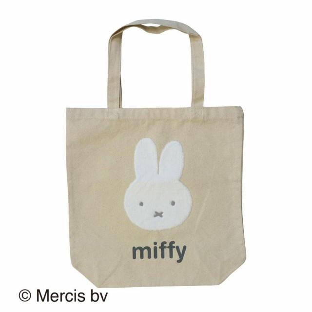 miffy ミッフィー  トートバッグ カオ ナチュラル...