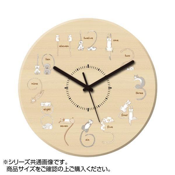 MYCLO(マイクロ) 壁掛け時計 ウッド素材(メープ...