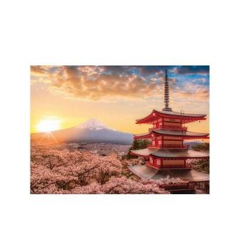 やのまん パズル 春暁の富士山と桜(山梨) 05-1...