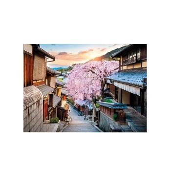やのまん パズル 夕日としだれ桜(京都) 05-102...