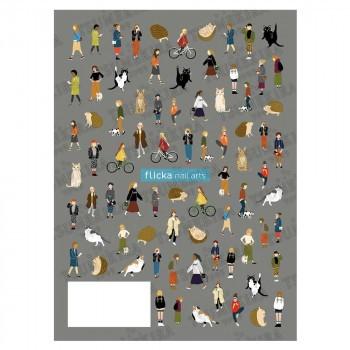 TSUMEKIRA(ツメキラ)ネイルシールflicka nail art...
