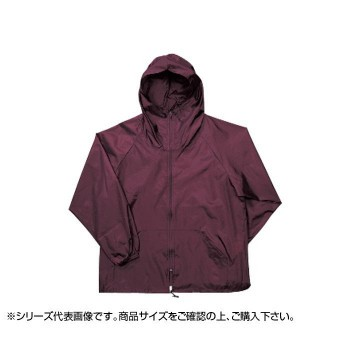 カジメイク 前開きヤッケ エンジ(39) 2211 4L