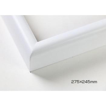 色紙額 木製フレーム 桜カマボコ ホワイト 27...