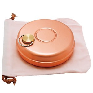 新光堂 純銅製ミニ湯たんぽ S-9397
