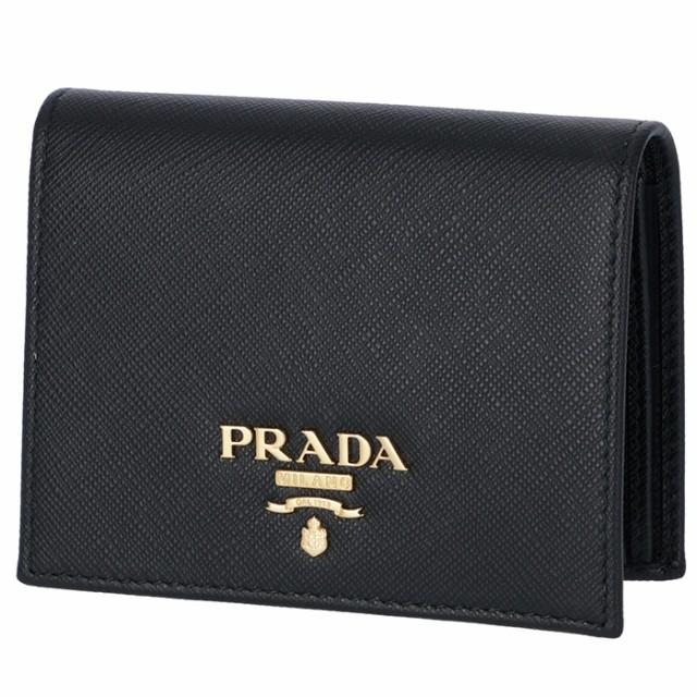 305d53af55ec プラダ PRADA 2019年春夏新作 サフィアーノ 財布 二つ折り レディース ミニ財布 二つ折り