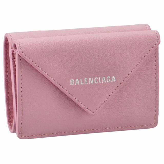 【SALE】バレンシアガ BALENCIAGA 財布 三つ折り ミニ財布 ペーパー PAPIER 三つ折り財布 391446 DLQ0N 5616