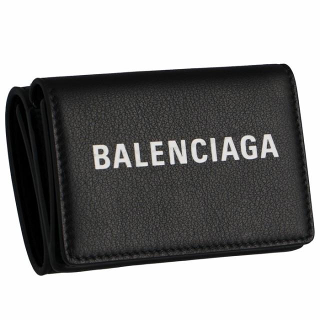 バレンシアガ BALENCIAGA EVERYDAY エブリデイ ミニ財布 メンズ 三つ折り財布 505055 DLQHN 1060