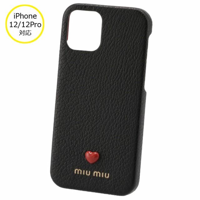 ミュウミュウ MIU MIU 2021年秋冬新作 iPhoneケース MADRAS LOVE iPhone12/12 pro スマホケース iPhone12/12Proケース 5ZH129 2BC3 002