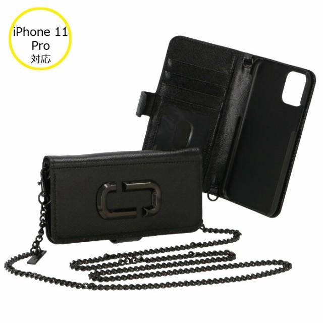 マークジェイコブス 2020年春夏新作 iphone11 pro ケース 手帳型 ショルダー付き THE SNAPSHOT DTM M0016057 0032 001