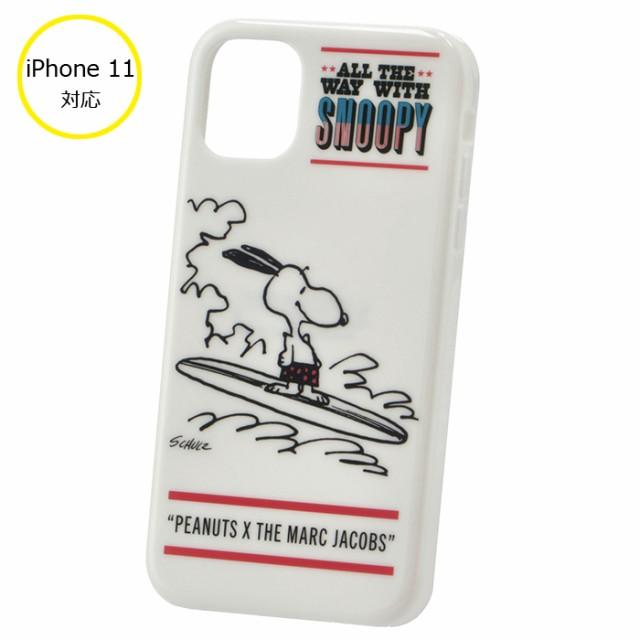 【SALE】マークジェイコブス PEANUTS×MARC JACOBS コラボ iPhoneケース iPhone11 アイフォン11ケース M0016832 0037 101