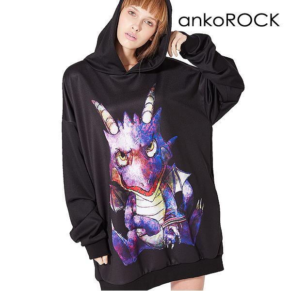 ankoROCK アンコロック パーカー トップス メンズ...
