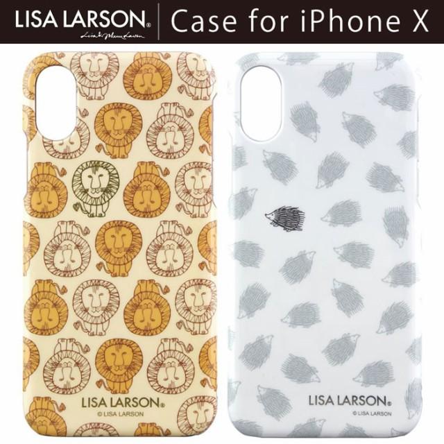 iPhoneX リサラーソン Lisa Larson ハードケース ...