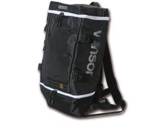 VANSON バンソン ツーリング用バッグ VS16901 バックパック ブラック/ホワイト フリー