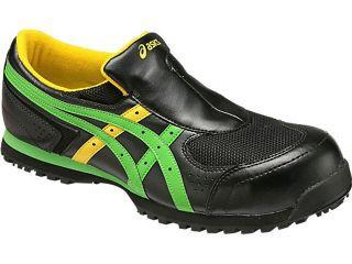 ASICS 安全靴 ウィンジョブ 36S カラー:ブラック...