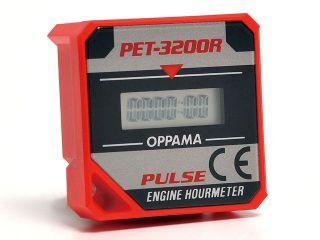 KITACO PET-3200R エンジンアワーメーター