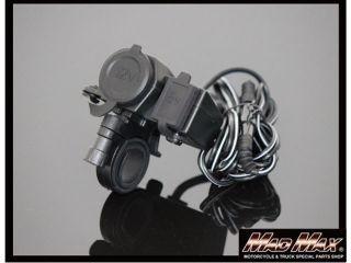 MADMAX バイク用シガーソケット&USB電源 DC12V専...