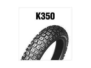 DUNLOP K350(OFF指向) 3.00-17 4PR(45P) WT ...