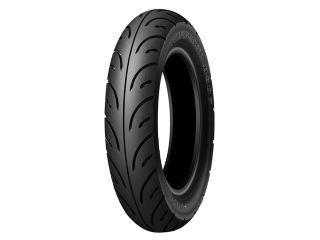 DUNLOP RUN SCOOT D307 80/90-10 44J TL フロント...