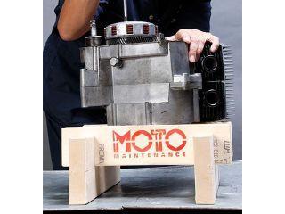 BikeBros. 木製エンジン作業台 分割井桁(イゲタ...