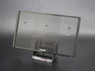 エッチングファクトリー Z900RS ラジエター関連パーツ Z900RS用 ラジエターガードSB 黒エンブレム