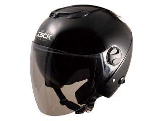 SPEED PIT ZJ-3 ジェットヘルメット カラー:ブラ...