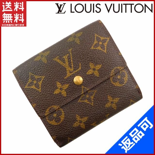 ルイヴィトン 財布 二つ折り財布 Wホック財布 メ...