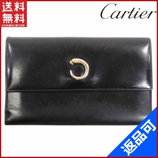 カルティエ 財布 Cartier 長財布 三つ折り財布 パ...