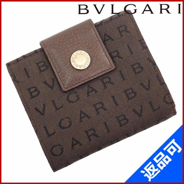 ブルガリ 財布 BVLGARI 二つ折り財布 Wホック財布...