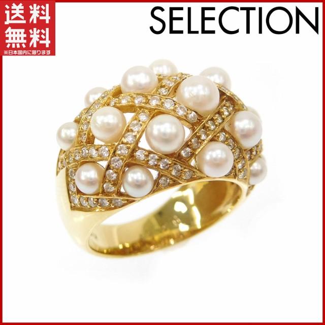 セレクション 指輪 SELECTION 指輪 K18 パール ゴ...