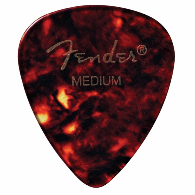 Fender 451 Shape Picks Shell Medium ピック×12...