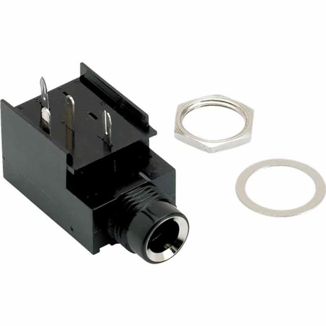 Fender Mono Amp Jack 4-Pin 交換用アンプジャッ...