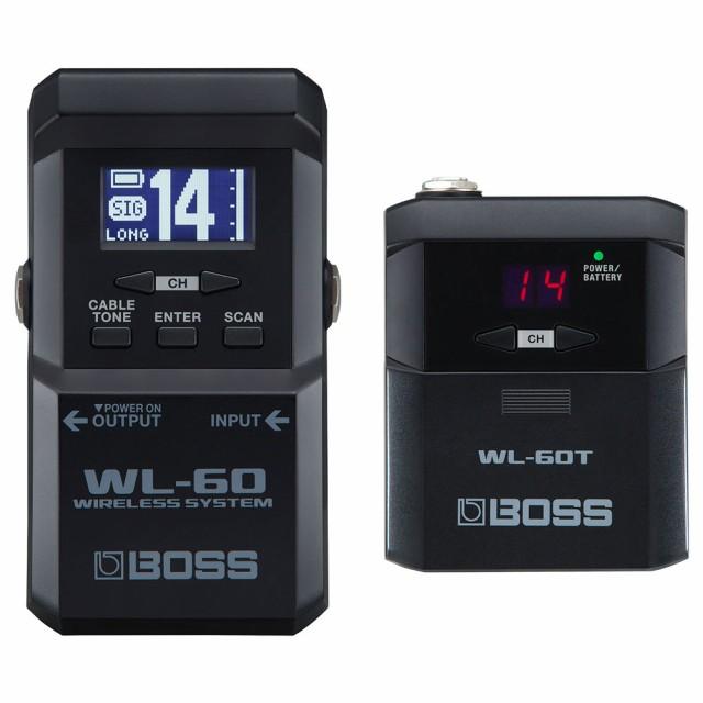 BOSS WL-60 Wireless System ギターワイヤレスシ...