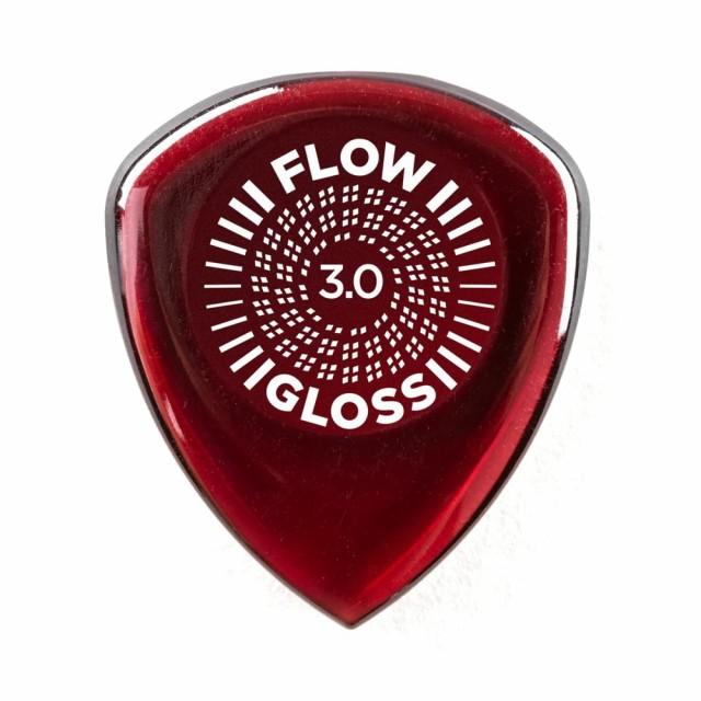 JIM DUNLOP 550R300 FLOW GLOSS 3.0 ギターピック...